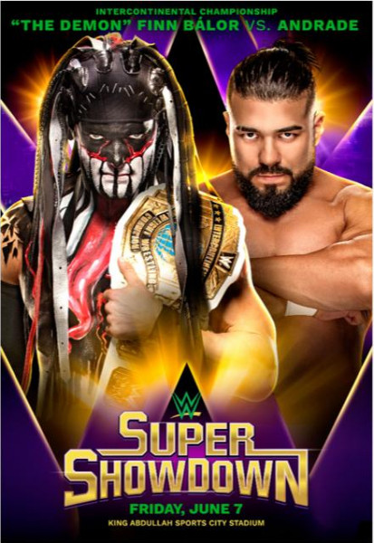بطل WWE للانتركونتننتال فين بالور يدافع عن لقبه أمام نجم WWE أندرادي