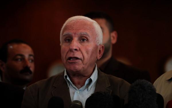 الأحمد: مصر لم تُجمّد جهودها للمصالحة وزياد النخالة ليس ناطقاً باسمها