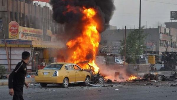 سقوط صاروخ بمحيط السفارة الأمريكية بالعاصمة العراقية بغداد وانطلاق صفارات الإنذار
