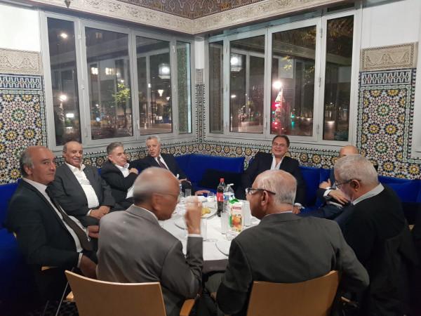 مأدبة افطار رمضانية للجالية الفلسطينية في فرنسا