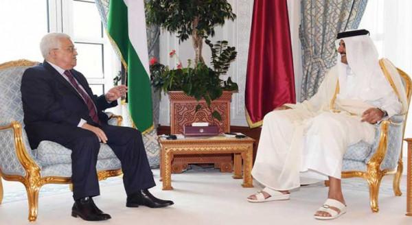 الرئيس عباس يتوجه الى قطر اليوم ويلتقي أميرها تميم بن حمد غداً