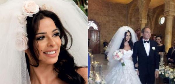 أمسكَ بيديها تحت الطاولة وتقدّم لها.. قصة حب وزفاف نادين نجيم الحقيقية