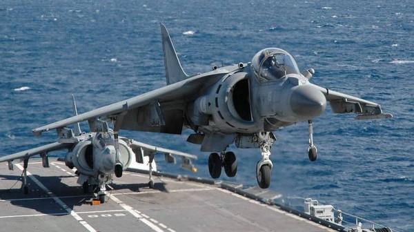 تحطم طائرة هجومية تابعة للقسم الثاني لمشاة البحرية الأمريكية