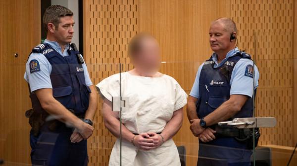 سفاح المسجدين في نيوزيلندا يُواجه تُهمة الإرهاب