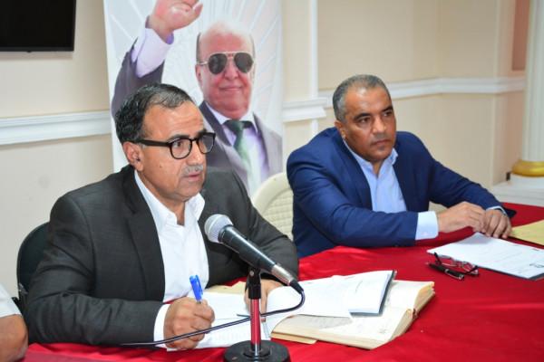 رئيس جامعة عدن يناقش اللائحة التنظيمية لبرنامج السنة التحضيرية