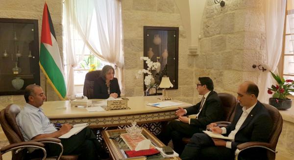 تعاون فلسطيني مع منظمة (يونسكو)