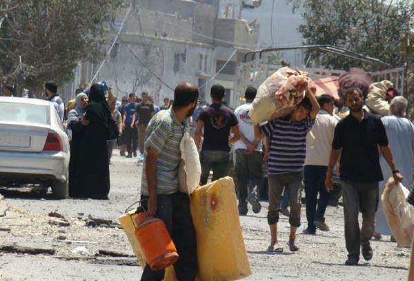 شبكة المنظمات تطالب كافة الجهات بعمل اللازم لضمان الأمن الغذائي لسكان غزة