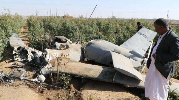التحالف يعلن تدمير طائرة مسيرة أطلقها الحوثيون صوب مطار نجران السعودي