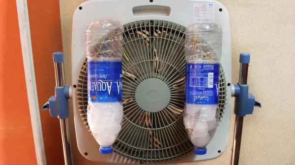 """بـ""""ملح وماء ومروحة"""".. طريقة عمل مكيف هوائي في المنزل"""