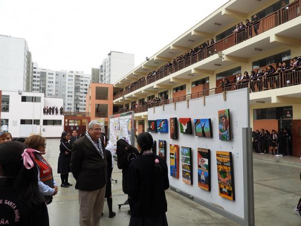 مدرسة روسا سانتا ماريا تحيي ذكرى النكبة في العاصمة البيروفية