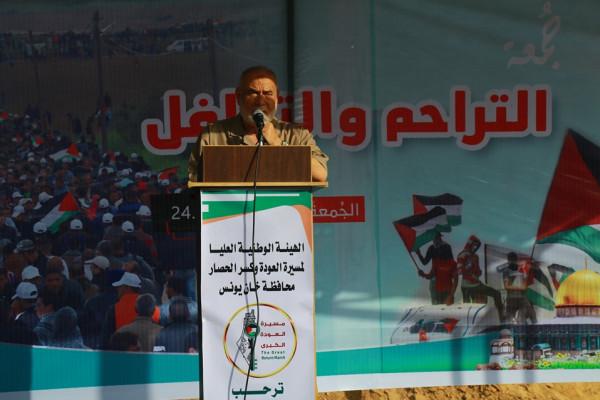 بحر: الاحتلال لا يزال يتهرب واللغة الوحيدة التي يفهمها هي لغة القوة