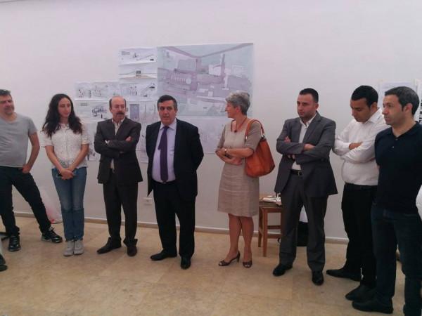 بلدية بيت لحم تنظم نشاطاً مع جامعة بيرزيت