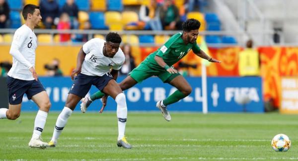 المنتخب السعودي يستهل مشواره بالخسارة أمام فرنسا