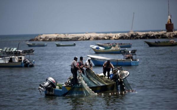 إسرائيل تُقرر توسعة مساحة الصيد ببحر غزة لـ 15 ميلاًَ بحرياً