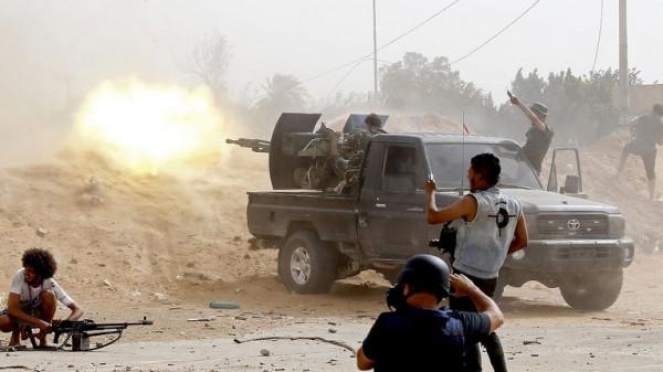 معارك ضارية داخل العاصمة الليبية (طرابلس)