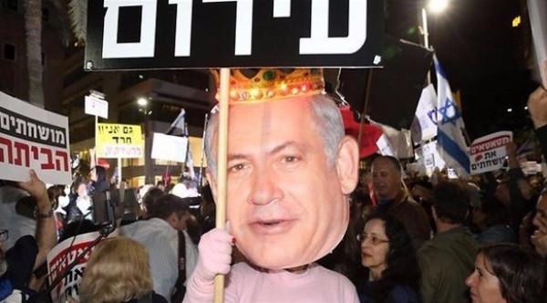 التجمع والجبهة يخرجان ضد نتنياهو بمظاهرات تل أبيب