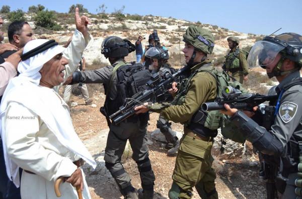المستوطنين يواصلون اعتداءاتهم ضد الفلسطينيين