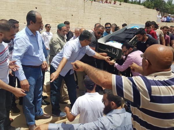 تشييع الراحل سميح حمودة إلى مثواه الأخير في رام الله