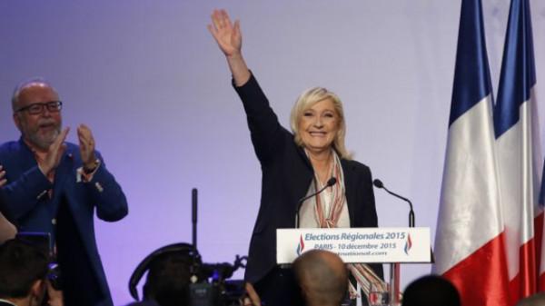 زعيمة اليمين المتطرف تعلن فوزها بانتخابات البرلمان الأوروبي في فرنسا