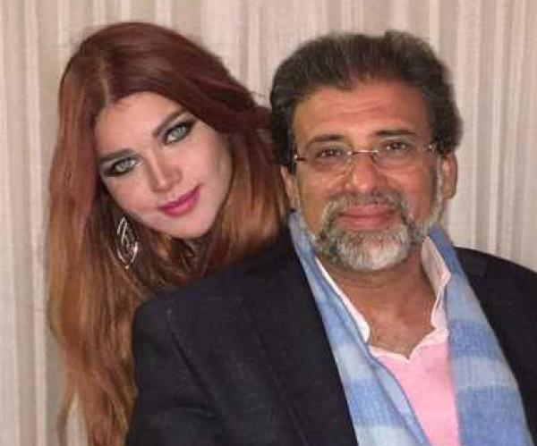 ياسمين الخطيب تتحدث عن فيديوهات خالد يوسف
