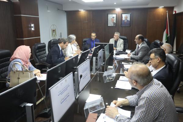 """الصالح يترأس اجتماع اللجنة التوجيهية لمشروع التنمية الريفية في الأغوار منطقة """"ج"""""""