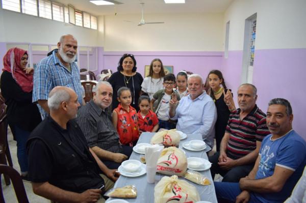 أبو العردات يرعى إفطارا رمضانيا لعوائل الشهداء والأيتام في مخيّم الميّة وميّة