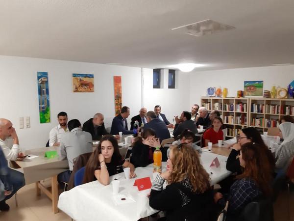 إفطار رمضاني عربي أردني بالعاصمة الألمانية برلين