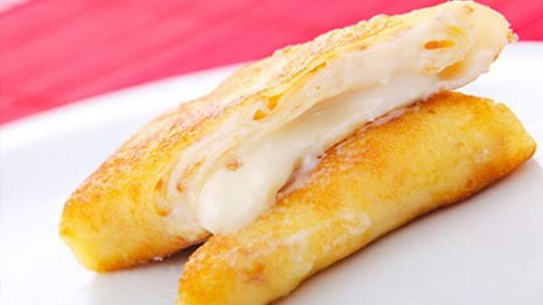 الجبن الرومي المقلي