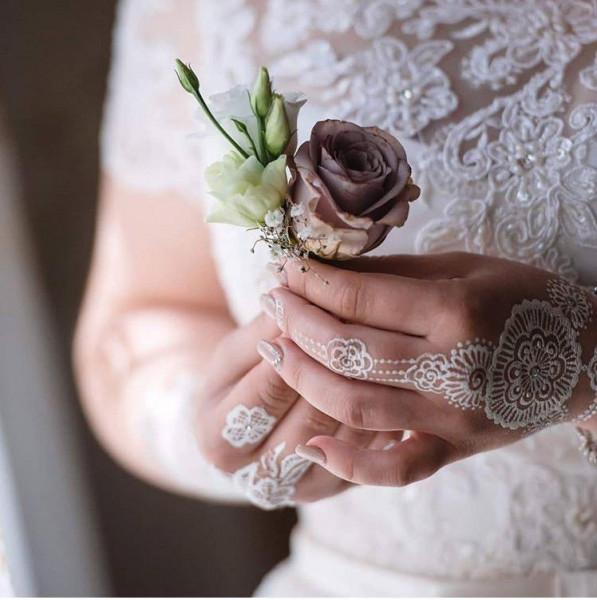 رسومات حناء عروس من انستقرام