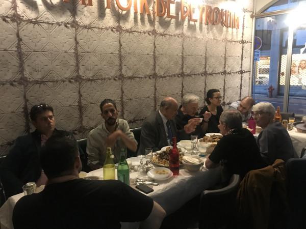 سفارة فلسطين في فرنسا تنظم مأدبة افطار رمضانية للفلسطينيين