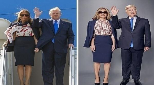 كيف تقلدين ملابس ميلانيا ترامب بأقل تكلفة؟