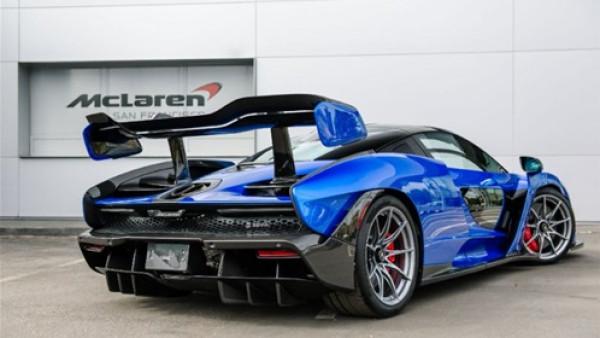 """""""مكلارين"""" تعتمد على اللون الأزرق في سيارتها الجديدة"""