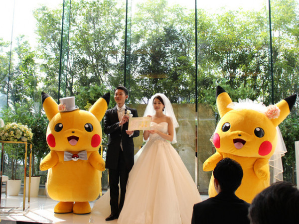 حفلات زفاف البوكيمون أحدث تقاليع الزواج في اليابان.. هل تُجربينها؟