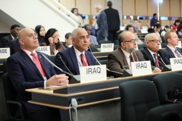 العراق يشارك في احتفالية الذكرى المئوية لتأسيس منظمة العمل الدولية