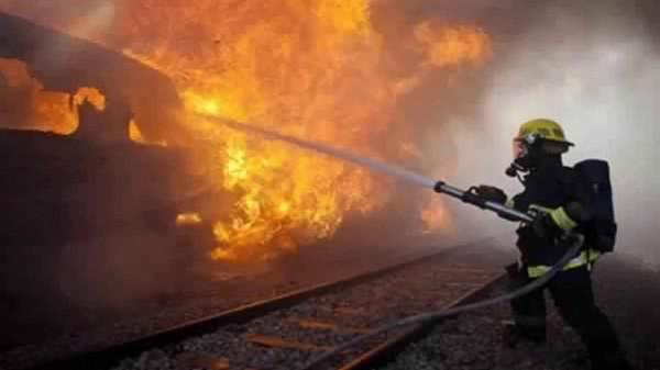 حريق يلتهم عشرة دونمات من محصول القمح شرق جنين