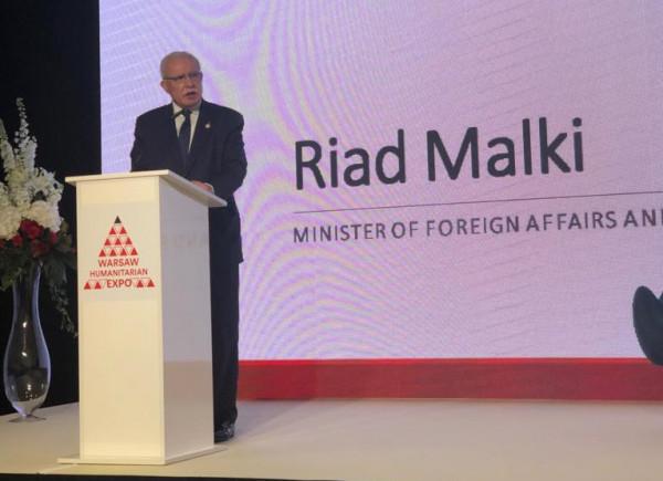 المالكي يفتتح معرض المساعدات الانسانية في بولندا