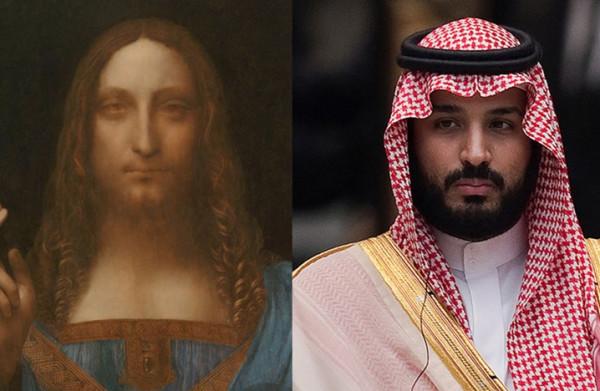 أين يُخفي بن سلمان لوحة المُخلص؟