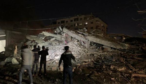 (هيومن رايتس ووتش): الغارات الإسرائيلية خلال التصعيد انتهاك لقوانين الحرب