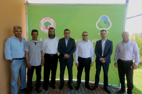 جوال وبلدية الشوكة يفتتحان مشروع تطوير الحديقة المركزية