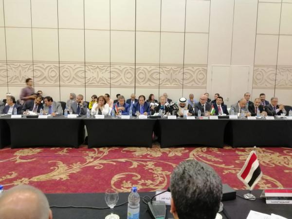 وزير الاقتصاد: رغبة عربية للاستثمار بفلسطين وترويج للمنتجات الوطنية عبر منصة إلكترونية