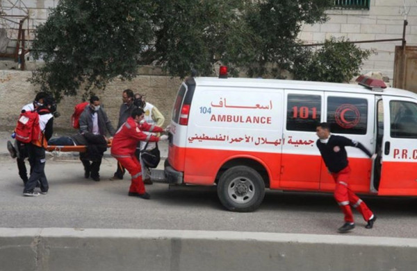 ثلاث إصابات طفيفة في حادث سير بمحافظة خانيونس