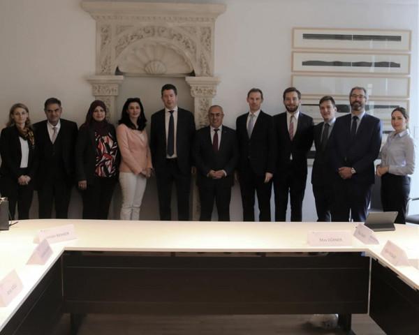 الاتفاق على تفعيل التعاون الثنائي بين دولة فلسطين ولوكسمبورغ