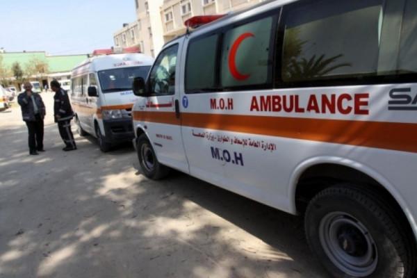 إصابة طفل بجراح خطيرة في حادث سير شمال القطاع