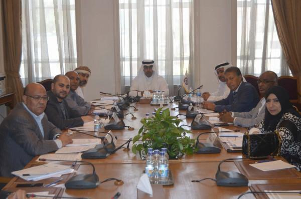 مكتب البرلمان العربي يناقش تطورات الأوضاع في الدول العربية