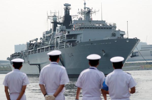 100 جندي في مياه الخليج لحماية السفن البريطانية