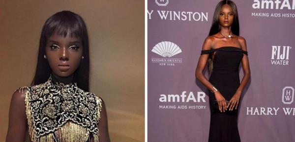 """عارضة أزياء من أصول سودانية.. نسخة طبق الأصل عن """"باربي"""""""