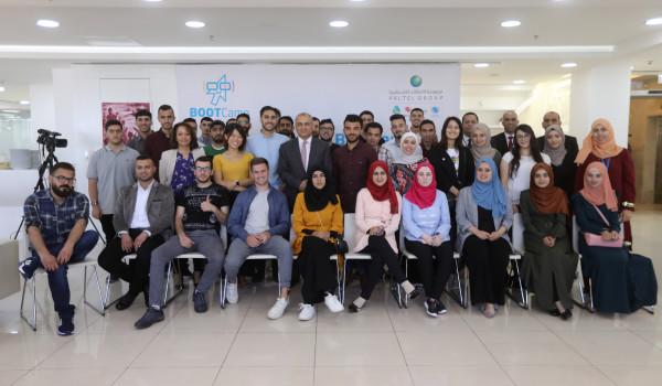 مجموعة الاتصالات الفلسطينية تطلق فعاليات المخيم الثالث للتصميم والبرمجة