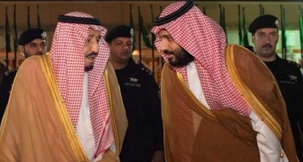 """الملك سلمان وولي عهده يشعلان مواقع التواصل بـ""""أفخم سيلفي"""""""