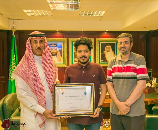 الطلبة السعوديين يشاركون بيوم الجاليات بجامعة 6 اكتوبر