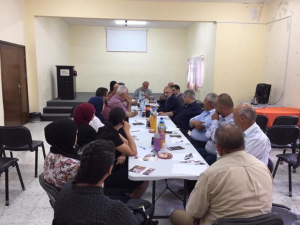 الغزّاوي يُشارك في الاجتماعي التّحضيري الأول لمهرجان ليالي الصّيف المقدسيّة